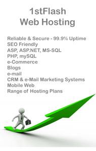 1stFlash Secure & Reliable Website Hosting