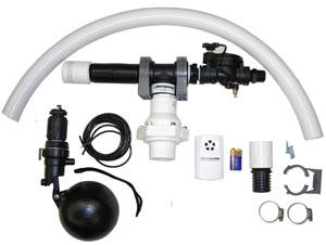 Basepump HB1000 Water Powered Sump Pump Components
