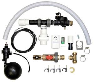 Basepump HB1000-PRO Water Powered Sump Pump Components