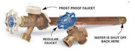 Regular & Frost-Proof Spigot Comparison