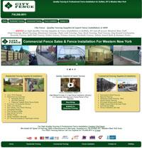 City Fence, Inc. e-Business Website