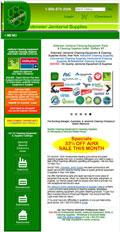 Dobmeier Janitor Supply, Inc. Responsive Website Design